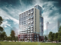 O2 Maisonettes on George new development in Moss Park