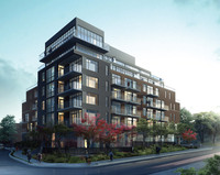 The Upper House Condos new development in Leaside Bennington