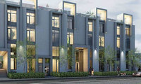 The Urban Townhome Collection new development in Bay Street Corridor