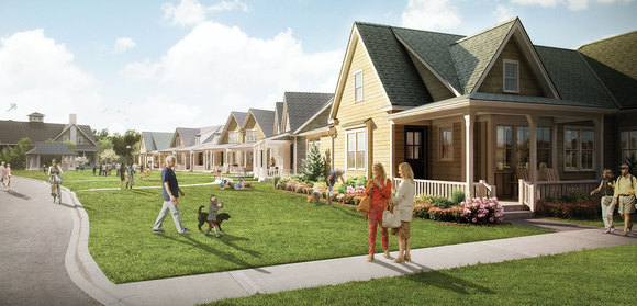 The Seasons on Little Lake - Midland New Home Development Information image
