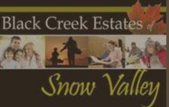 Black Creek Estates of Snow Valley New Home Development Information image