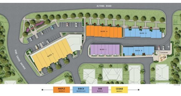The Forestview Towns New Home Development Information image
