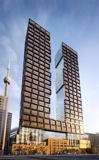 Nobu Residences Toronto new development in Waterfront Communities The Island