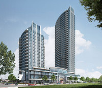 Perla Towers new development in Mississauga