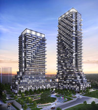 Auberge on the Park new development in North York