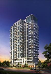 The Lexington Condominium Residences by the Park new development in West Humber Clairville