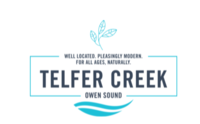 Teffler Creek new development in Owen Sound