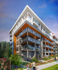 Duet new development in Vancouver Region
