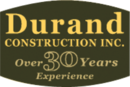 Durand Construction new home builder