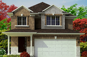 The Dove B model home in