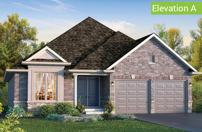 Cambridge Elevation A model home in