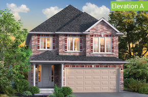 Magnolia Elevation A model home in