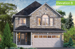 Magnolia Elevation B model home in