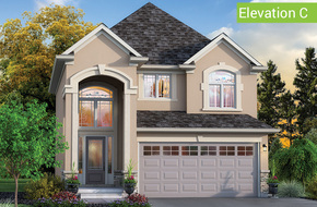 Magnolia Elevation C model home in
