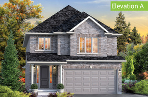 Vista Elevation A model home in
