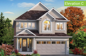 Vista Elevation C model home in