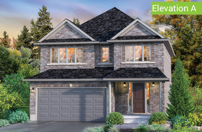 Sherwood Elevation A model home in