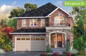Sherwood Elevation B model home in