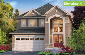 Sherwood Elevation C model home in