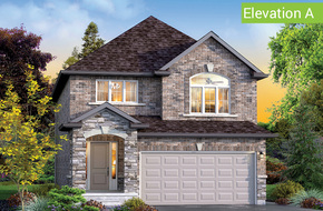 Chestnut Elevation A model home in
