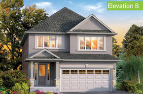 Chestnut Elevation B model home in