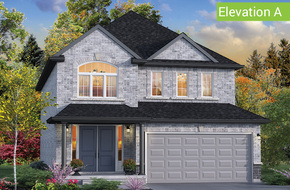 Wimbledon Elevation A (3 or 4 bed) model home in