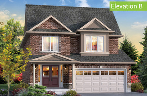 Wimbledon Elevation B (3 or 4 bed) model home in