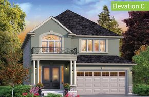 Wimbledon Elevation C (3 or 4 bed) model home in