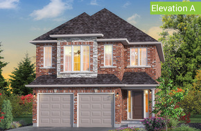 Mapleview Elevation A (3 or 4 bed) model home in