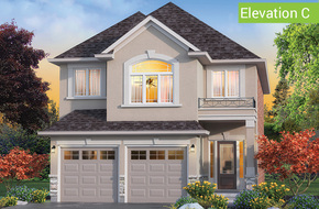 Mapleview Elevation C (3 or 4 bed) model home in