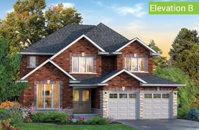 York Elevation B model home in