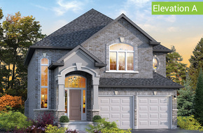 Tivoli Elevation A model home in