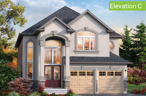 Tivoli Elevation C model home in