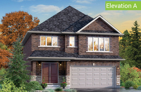 Belvedere Elevation A model home in
