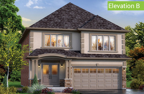 Belvedere Elevation B model home in