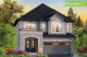Belvedere Elevation C model home in