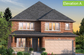Benvenuto Elevation A model home in