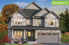 Benvenuto Elevation B model home in