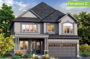 Benvenuto Elevation C model home in