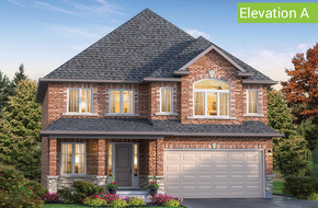 Firenze Elevation A (4 or 5 bed) model home in
