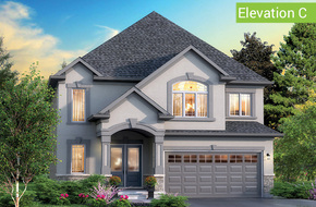 Firenze Elevation C (4 or 5 bed) model home in