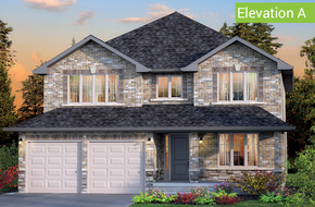 Forestbrook Elevation A model home in