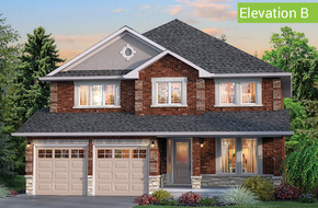 Forestbrook Elevation B model home in