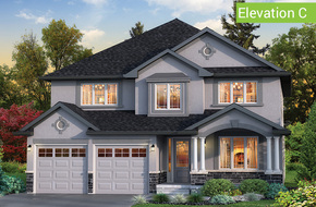 Forestbrook Elevation C model home in