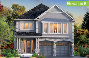 Georgetown Elevation B model home in