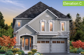Georgetown Elevation C model home in