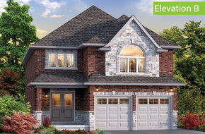 Giardino Elevation B model home in