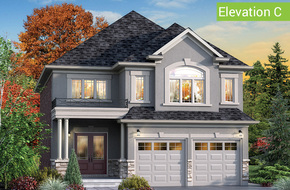 Giardino Elevation C model home in