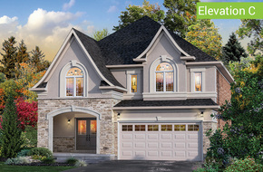 Il Palazzo Elevation C model home in