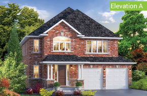 Glen Abbey Elevation A model home in